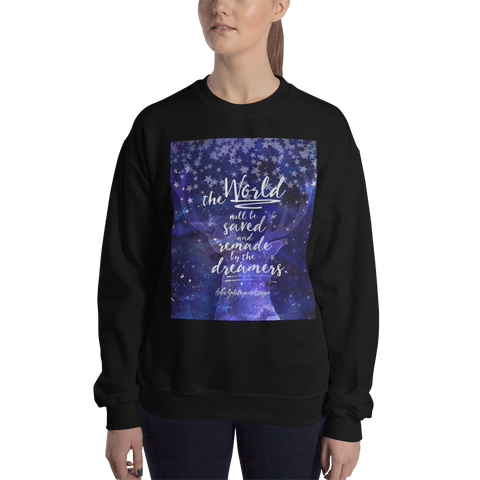 The world will be saved... Throne of Glass Quote Unisex Sweatshirt