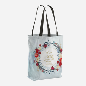 The heart is an arrow... Six of Crows Quote Tote Bag - LitLifeCo.