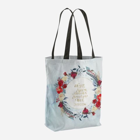 The heart is an arrow... Six of Crows Quote Tote Bag