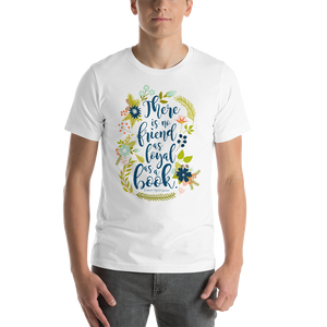 There is no friend... Ernest Hemingway T-Shirt - Literary Lifestyle Company