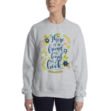 There is no friend as loyal as a book. Ernest Hemingway Quote Unisex Sweatshirt - LitLifeCo.