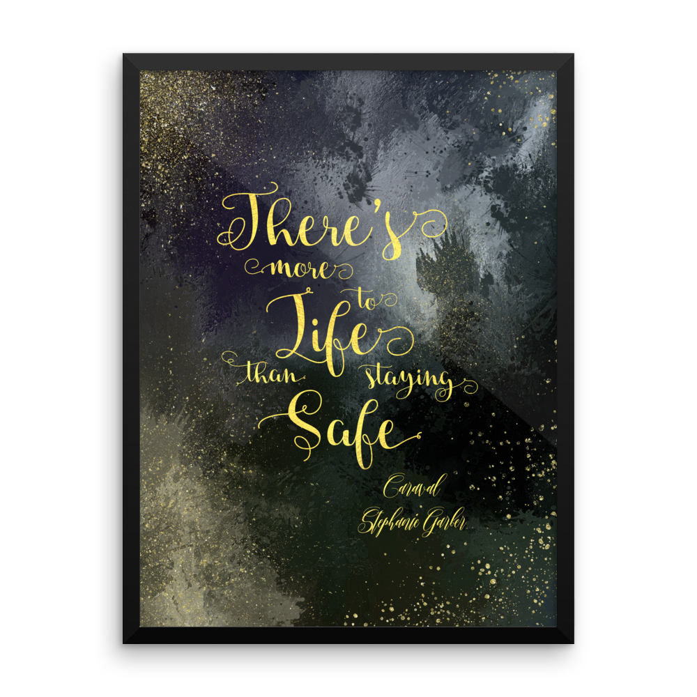 There's more to life... Caraval Art Print - Literary Lifestyle Company