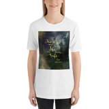 There's more to life than staying safe. Caraval Quote Unisex Short Sleeved Shirt