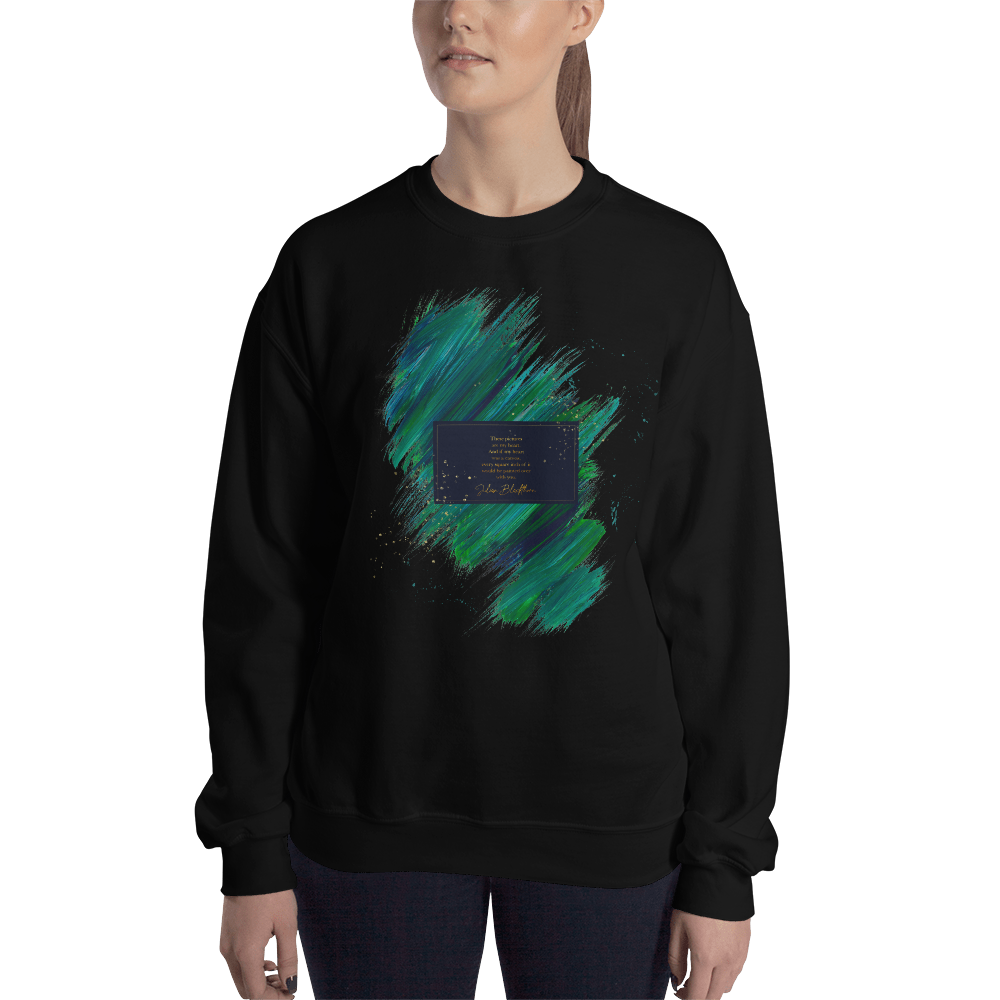 These pictures are my heart... Julian Blackthorn Quote Unisex Sweatshirt - LitLifeCo.
