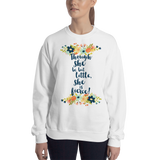 Though she be but little, she is fierce! A Midsummer Night's Dream Quote Unisex Sweatshirt - LitLifeCo.