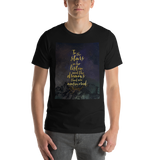 To the stars who listen... A Court of Mist and Fury (ACOMAF) Quote Unisex Short Sleeved Shirt