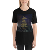 To the stars who listen... A Court of Mist and Fury (ACOMAF) Quote Unisex Short Sleeved Shirt - LitLifeCo.