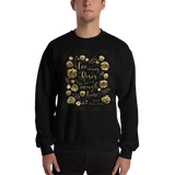 Too many roses... Caraval Quote Unisex Sweatshirt