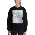 For death and mourning the color's WHITE. Shadowhunter Children's Rhyme Quote Unisex Sweatshirt - LitLifeCo.