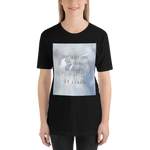 For death and mourning the color's WHITE. Shadowhunter Children's Rhyme Quote Unisex Short Sleeved Shirt - LitLifeCo.