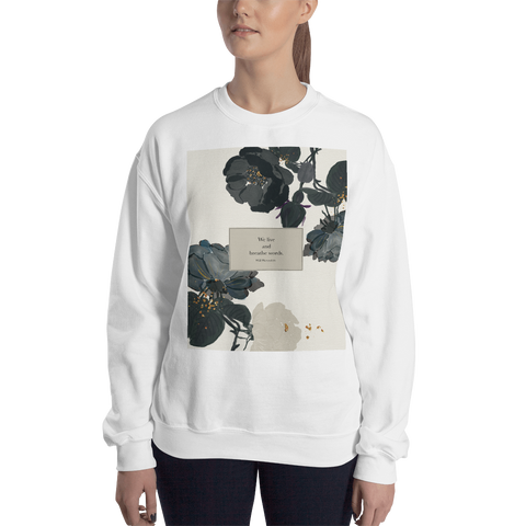 We live and breathe words. Will Herondale Unisex Sweatshirt - LitLifeCo.
