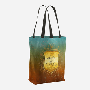 We hope or we falter. Nikolai Lantsov Quote Tote Bag - LitLifeCo.