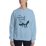 What is essential... The Little Prince Quote Unisex Sweatshirt - LitLifeCo.