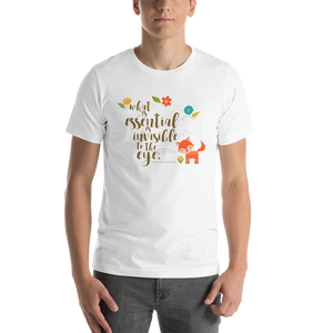 What is essential... The Little Prince T-Shirt - LitLifeCo.