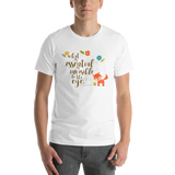 What is essential... The Little Prince Quote Unisex Short Sleeved Shirt