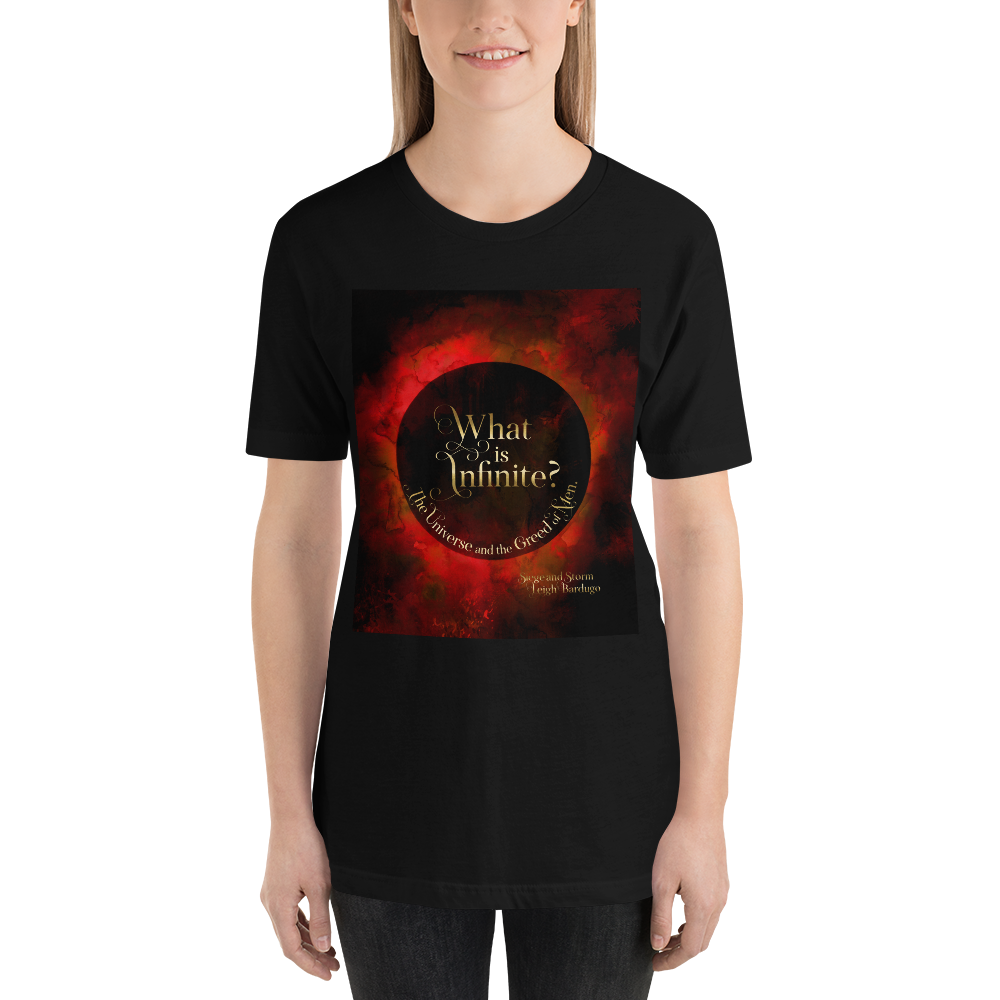 What is infinite?... Siege and Storm Quote Unisex Short Sleeved Shirt