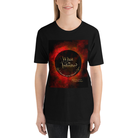 What is infinite?... Siege and Storm Quote Unisex Short Sleeved Shirt - LitLifeCo.