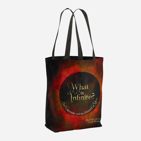 What is infinite? Siege and Storm Quote Tote Bag