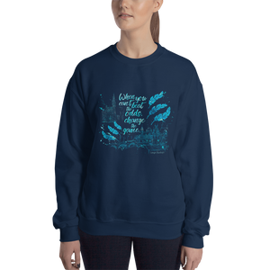 When you can't beat the odds... Six of Crows Quote Unisex Sweatshirt - LitLifeCo.