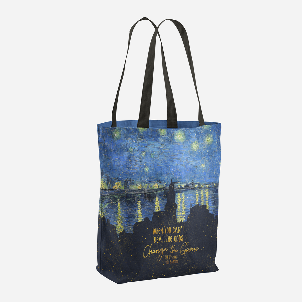 When you can't beat the odds... Six of Crows Quote Tote Bag - LitLifeCo.