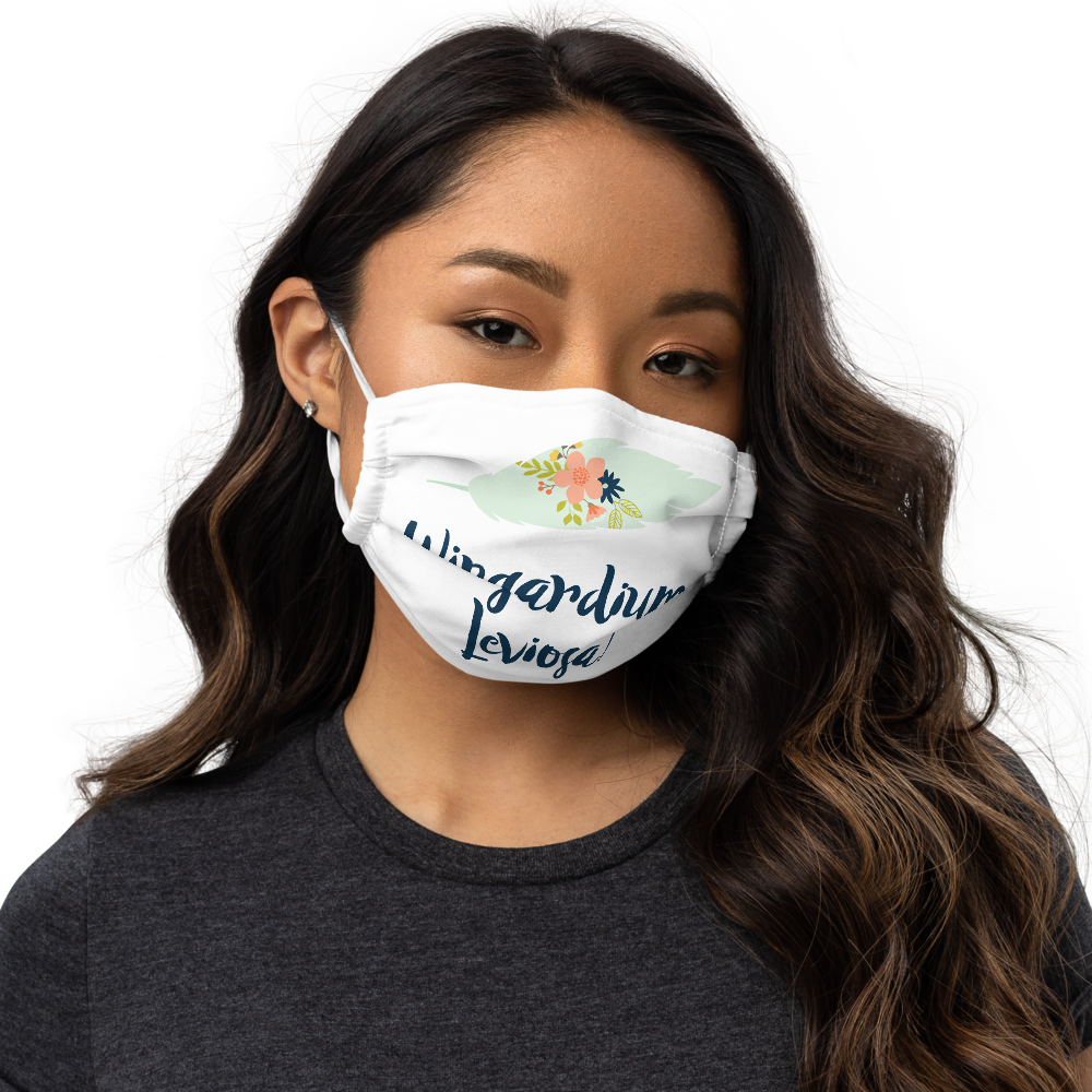 Wingardium Leviosa! Harry Potter Premium Face Mask