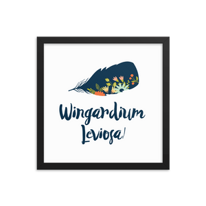 Wingardium Leviosa! Harry Potter Art Print - LitLifeCo.