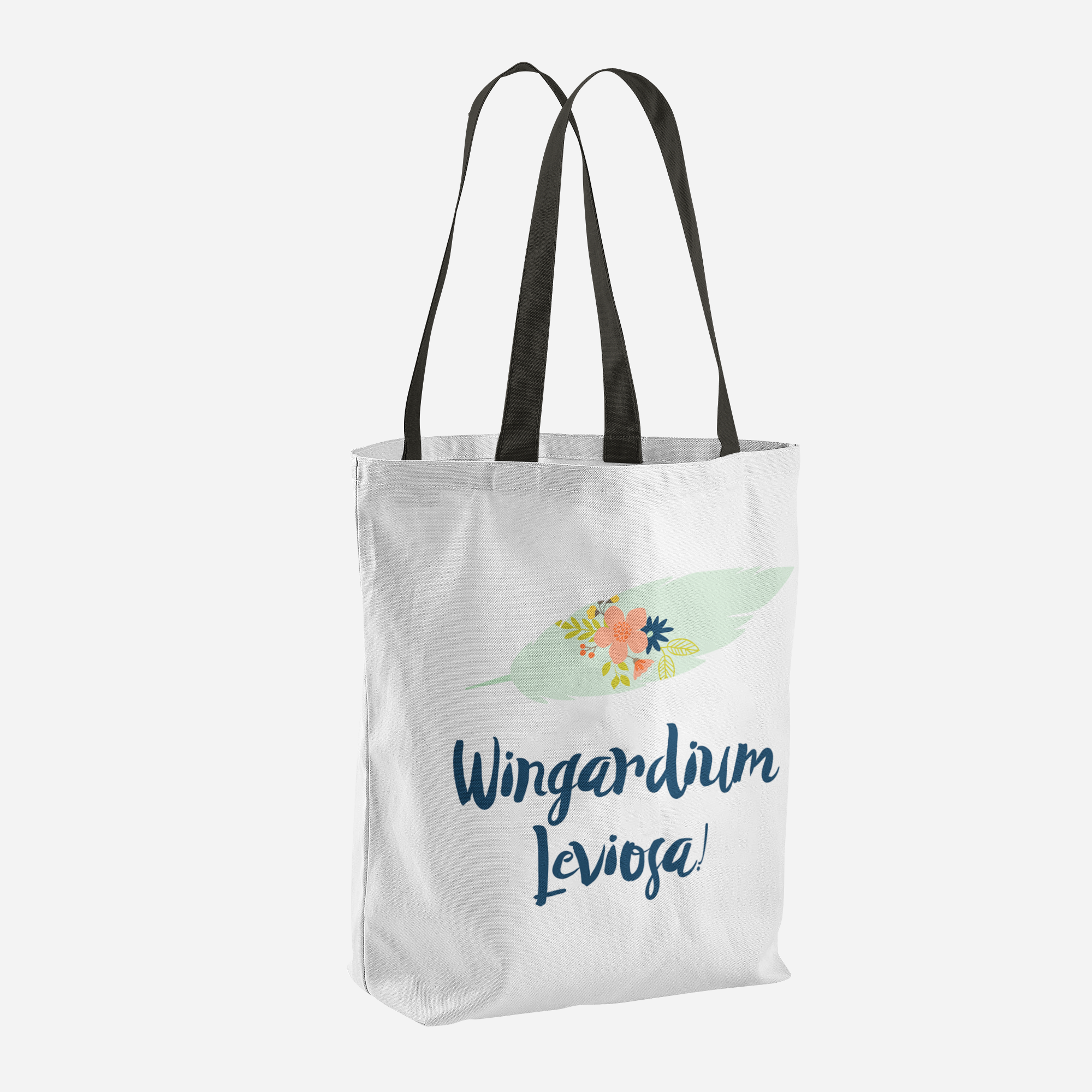 Wingardium Leviosa! Harry Potter Spell Tote Bag - LitLifeCo.