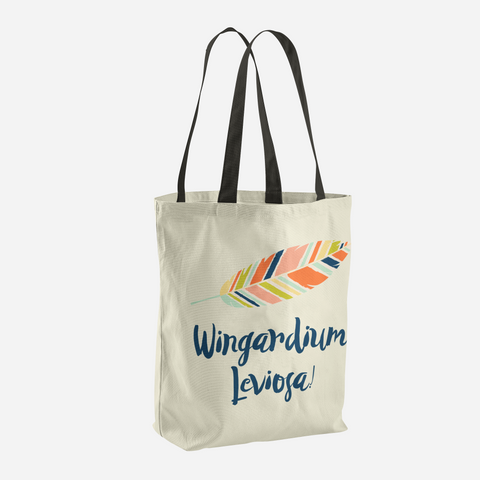 Wingardium Leviosa! Harry Potter Spell Tote Bag