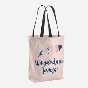 Wingardium Leviosa! Harry Potter Tote Bag - LitLifeCo.