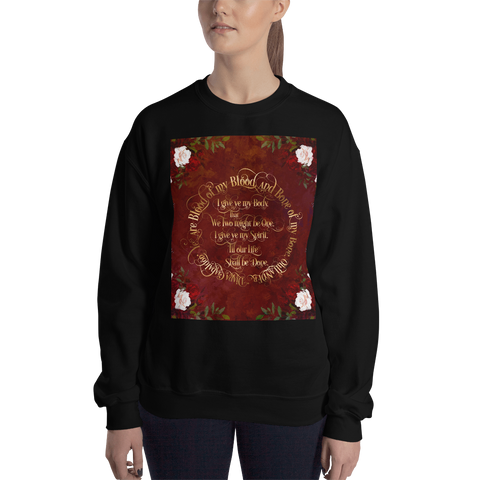 Outlander Wedding Vows Unisex Sweatshirt