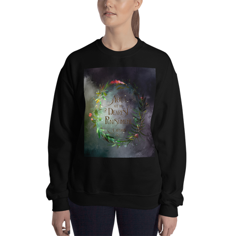 You are my dearest punishment. Cardan Quote Unisex Sweatshirt