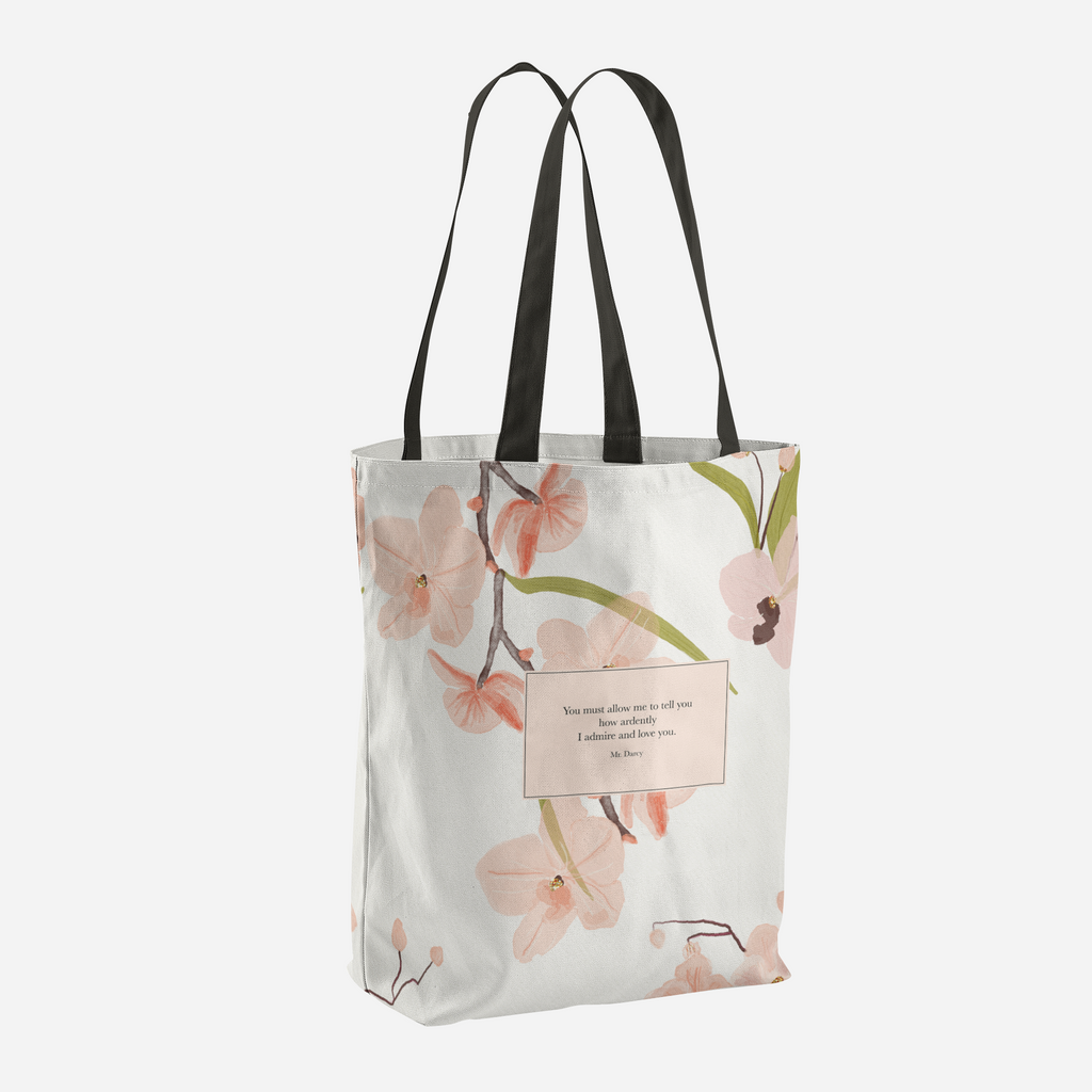 You must allow me... Mr. Darcy Tote Bag - LitLifeCo.