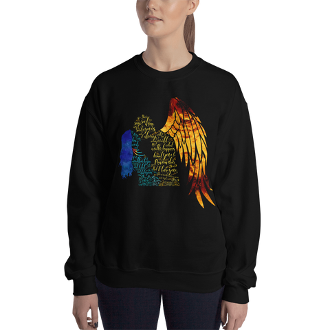 Your soul sings to mine... Daughter of Smoke and Bone Quote Unisex Sweatshirt