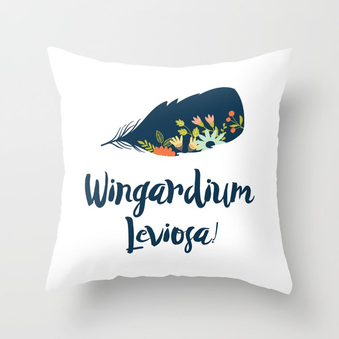 Wingardium Leviosa! Harry Potter Pillow - LitLifeCo.