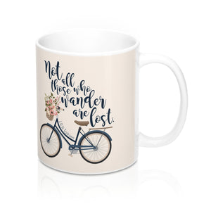 Not all those who wander... Lord of the Rings Quote Mug - LitLifeCo.