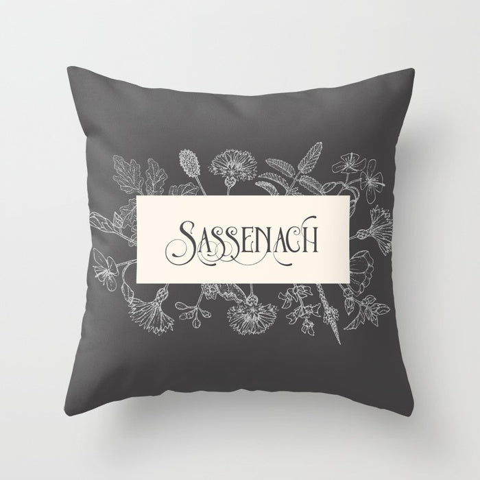 SASSENACH Pillow