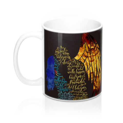 Your soul sings to mine... Daughter of Smoke and Bone Quote Mug - LitLifeCo.