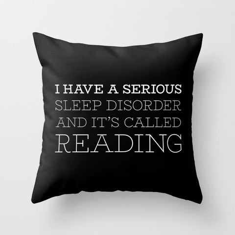 I have a serious sleep disorder... Pillow - LitLifeCo.