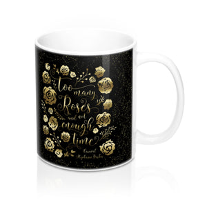 Too many roses... Caraval Quote Mug - LitLifeCo.