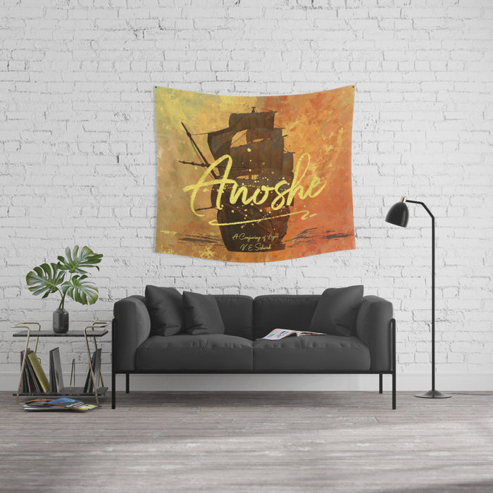 Anoshe. A Conjuring of Light Quote Wall Tapestry - LitLifeCo.