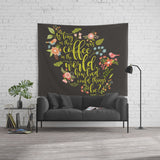 As long as there was coffee... The Mortal Instruments Quote Wall Tapestry - LitLifeCo.