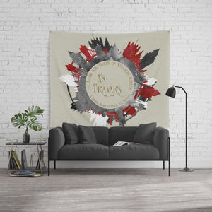 As travars. For those who dream of stranger worlds. A Darker Shade of Magic Quote Wall Tapestry - LitLifeCo.