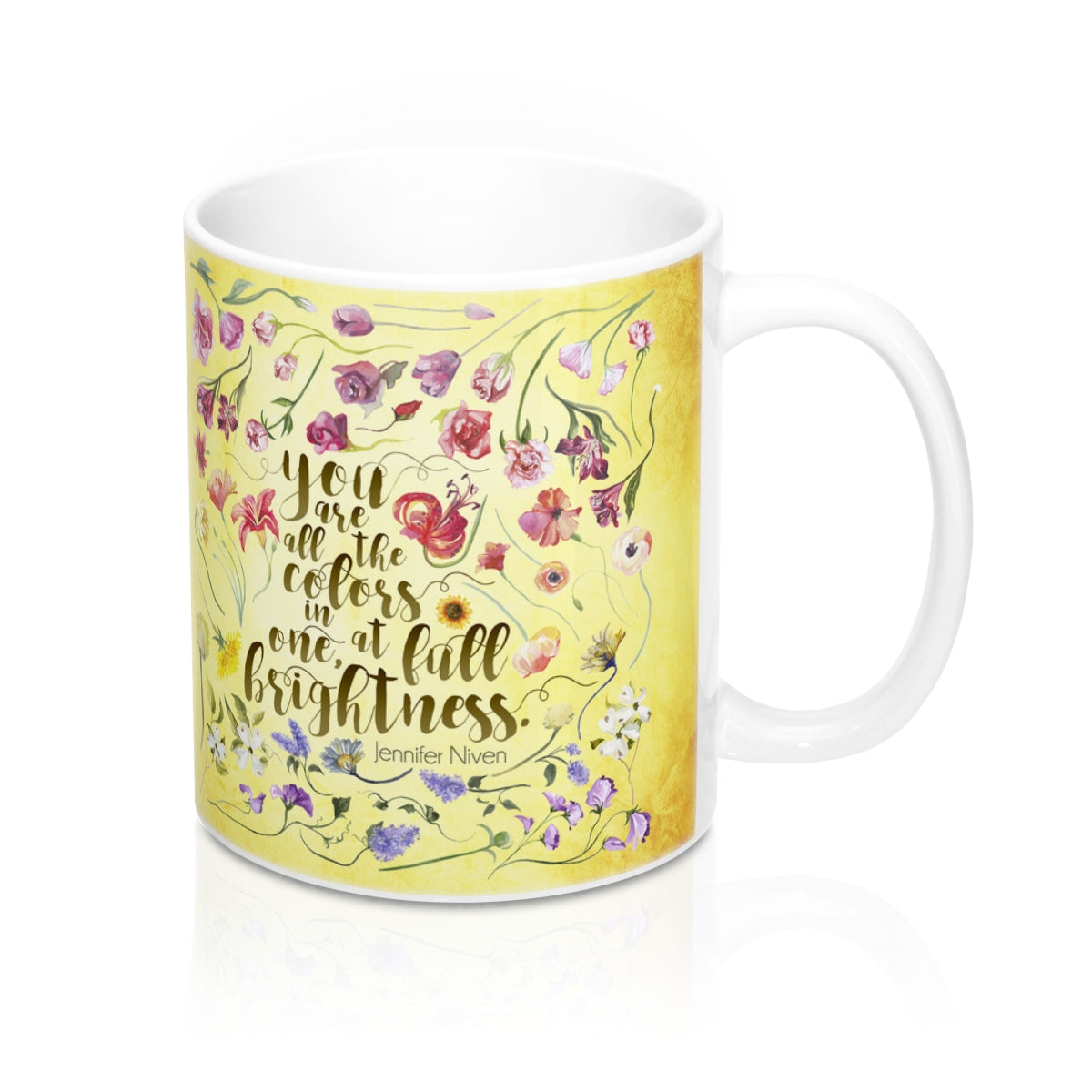 You are all the colors in one... All The Bright Places Quote Mug - LitLifeCo.