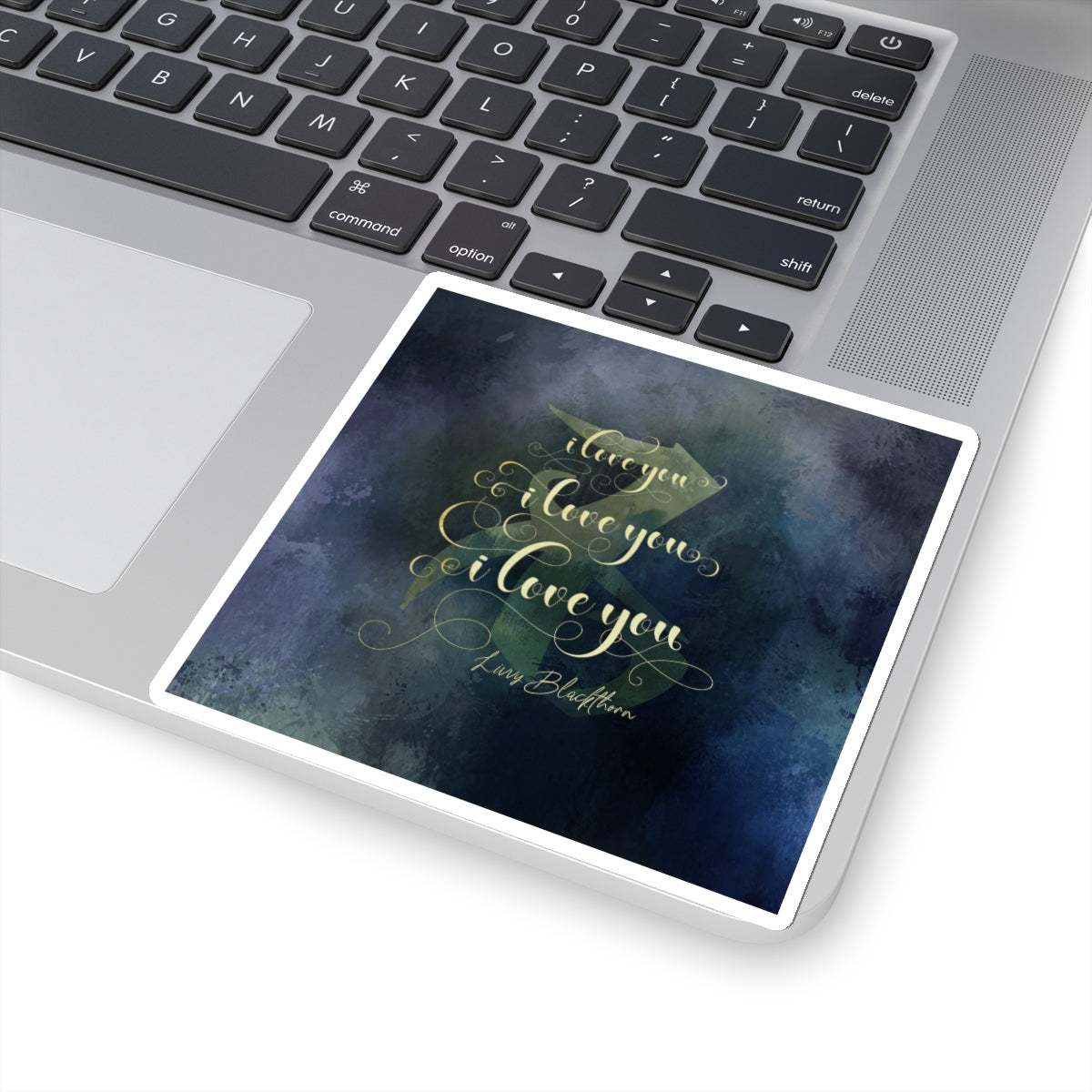 I love you... Livvy Blackthorn Quote Sticker - LitLifeCo.