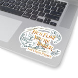 He's flint... The Cruel Prince Quote Sticker - LitLifeCo.