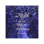 The world will be saved... Empire of Storms (Throne of Glass Series) Quote Sticker - LitLifeCo.