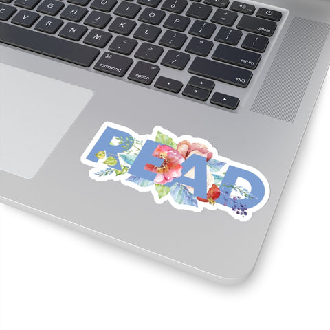 READ Floral Sticker - LitLifeCo.