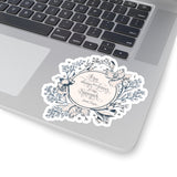 It has always been forever... Jamie Fraser Quote Sticker - LitLifeCo.