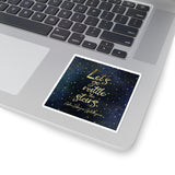 Let's go rattle the stars. Empire of Storms (Throne of Glass Series) Quote Sticker - LitLifeCo.
