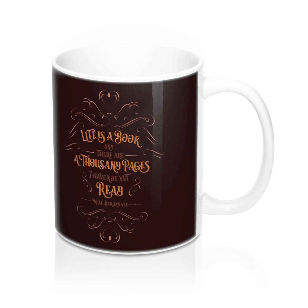 Life is a book... Will Herondale Quote Mug - LitLifeCo.